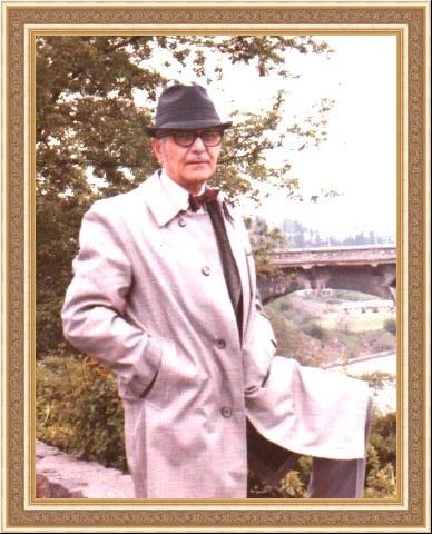Владимир Георгиевич Юрьев. Русский архитектор. Фото из архива семьи Юрьевых 1974.