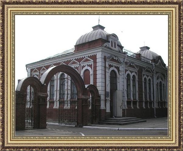 Здание краеведческого музея города Гуляй Поле.