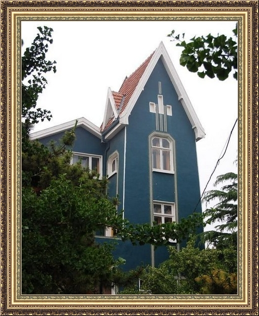 Резиденция  датского генерального консула в Циндао. Проект архитектора Ю.Г. Юрьева 1941 год.