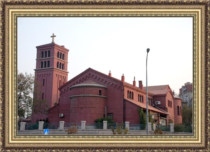 Церковь Святого Павла. 1933-1936 года постройки. Проект архитектора Ю.Г. Юрьева.